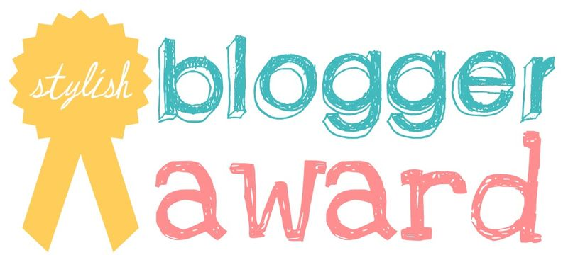 Blogger award banner