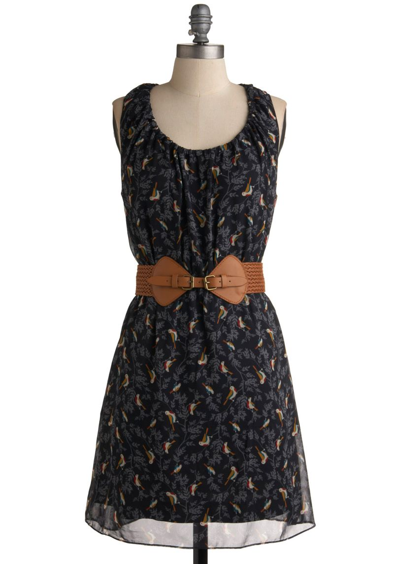 _Unbeweaveably Tweet Dress Modcoth