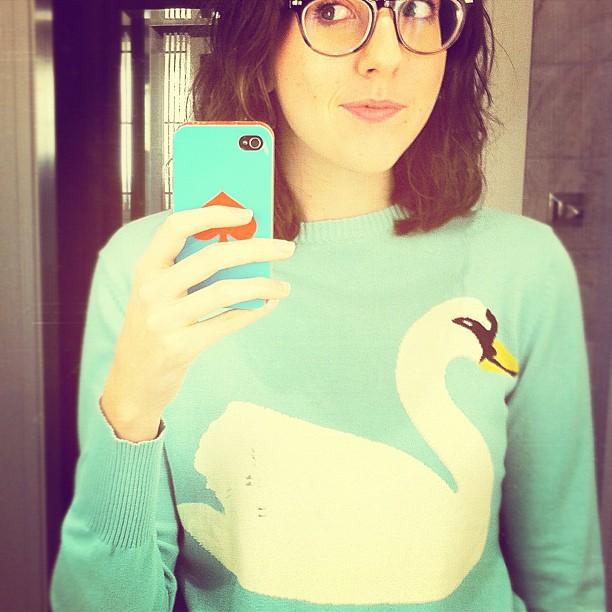 Swansweateronesheepishgirl